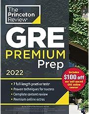 Princeton Review GRE Premium Prep, 2022: 7 Practice Tests + Review & Techniques + Online Tools (2022)