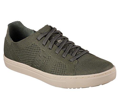 Uomo Sneaker Verde Moneco Alven Skechers pqv4AA