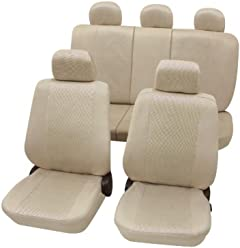 Petex Sitzbezug Universal Athen Fahrersitz 3-teilig Gr/ö/ße SAB 1 grau