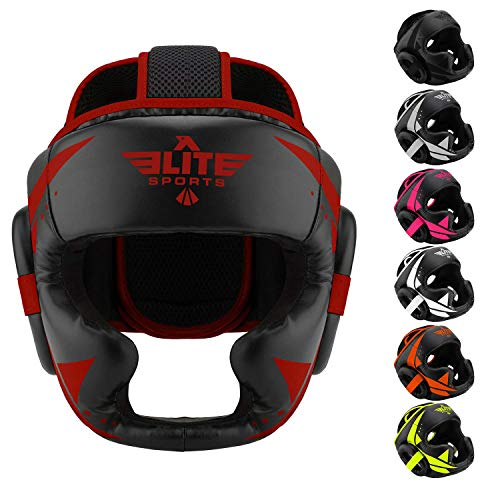 (Elite Sports MMA Sparring Boxing Head Gear)