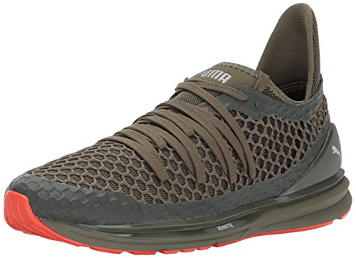 Sneaker Netfit Ignite illimitata da uomo, Olive Night-Cherry Tomato, 10 M US