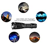 Refun E6 High-Powered Tactical Flashlight Water