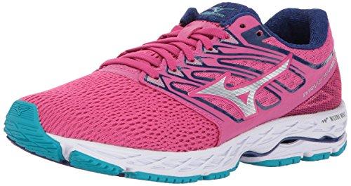 Mizuno Fuchsia Femme Royaume 5 Running Vague Unis Ombre 7 Argent Shoe Etats Uni au 5 UawCU