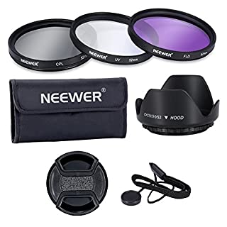 Neewer 52MM Lens Filter Accessory Kit:UV, CPL, FLD and Lens Hood for NIKON D7100 D7000 D5200 D5100 D5000 D3300 D3200 D3100 D3000 D90 D80 DSLR Cameras (B00J97LPUY) | Amazon Products