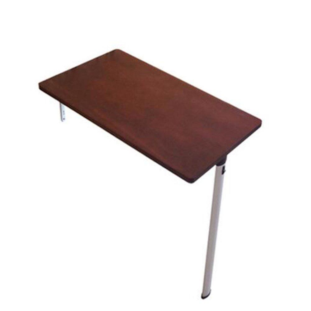 FEIFEI テーブルデスク、キッチンダイニングテーブル、ウォールテーブル、ワインレッド(さまざまなサイズのものをご用意しています) スペースを節約する (サイズ さいず : 74*25*74cm) B07DLHX24674*25*74cm