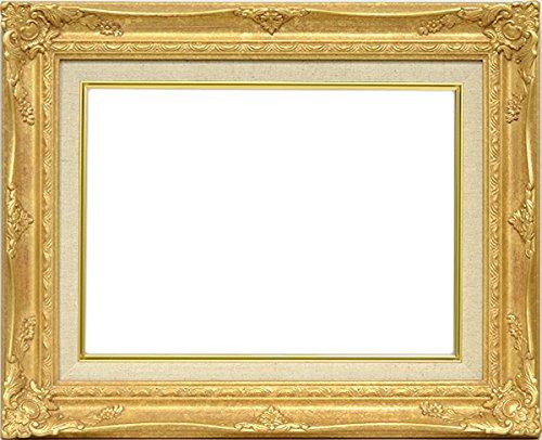大額 油絵用額縁 9232N/ゴールド P10(530×410mm) ガラス B01AJ6IWVS