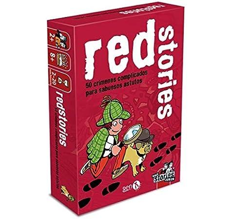 GENX Black Stories: Red Stories - Juego de Mesa [Castellano]: Amazon.es: Juguetes y juegos