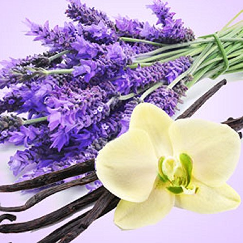 LAVENDER VANILLA FRAGRANCE OIL - 8 OZ - FOR CANDLE & SOAP MAKING BY VIRGINIA CANDLE SUPPLY - FREE S&H IN USA