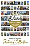 61 National Parks - Postcard Set of 61 Different Original Hand Illustrated Postcards by Lantern Press