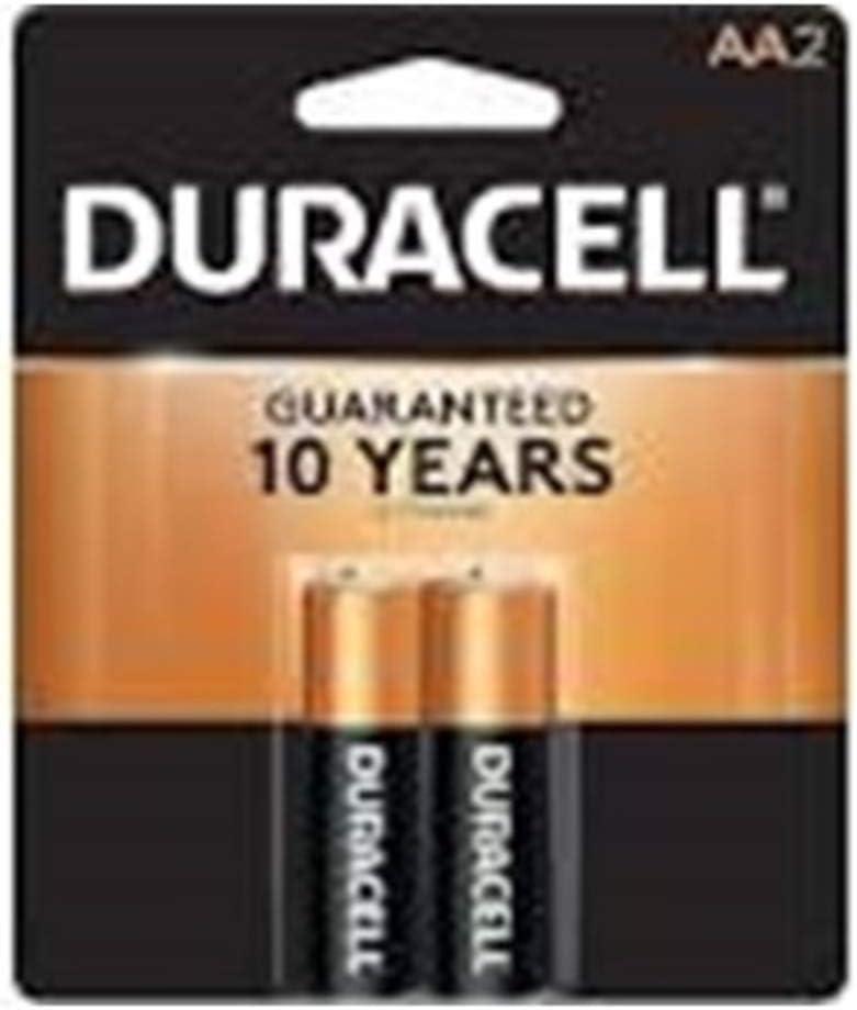 Amazon Com Duracell Aa Alkaline Batteries 1 5v 2 Pack Mn1500 Lr6 Electronics