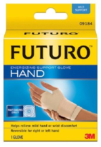 (FUTURO 09183EN Energizing Support Glove, Medium, Palm Size 7 1/2