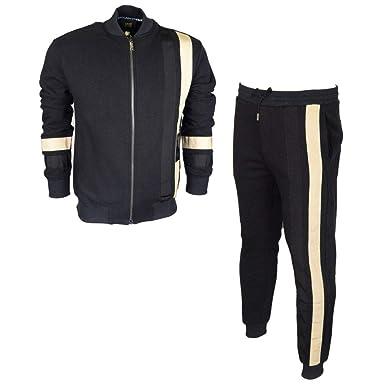 131fef25f8bc Roberto Cavalli - Survêtement - Homme Noir Noir  Amazon.fr  Vêtements et  accessoires
