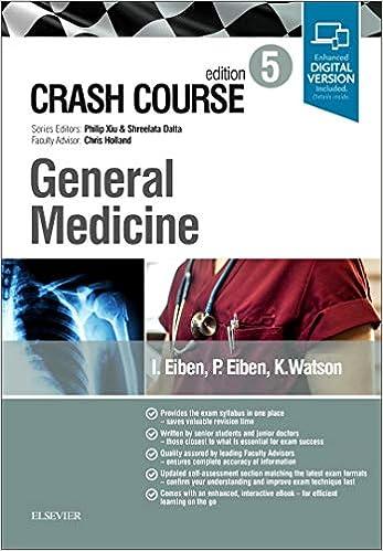 Crash Course General Medicine, 5th Edition - Original PDF