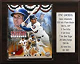 MLB Ryne Sandberg Chicago Cubs Career Stat Plaque