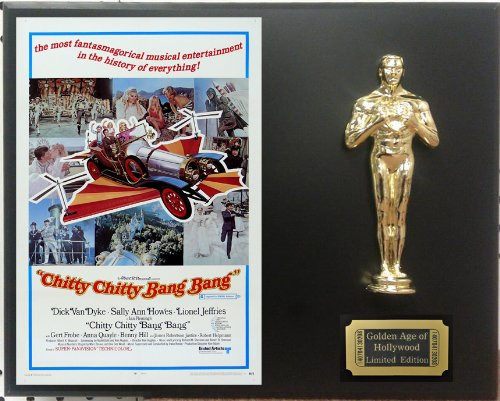 "Dick Van Dyke in ""Chitty Chitty Bang Bang"" Limited Edition Oscar Display. Only 500 made. Limited quanities. FREE US SHIPPING"