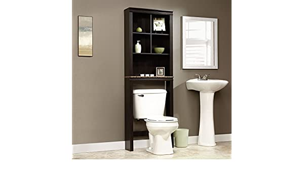 Amazon.com: Over Toilet Bathroom Storage Cabinet Shelves Cubby ...