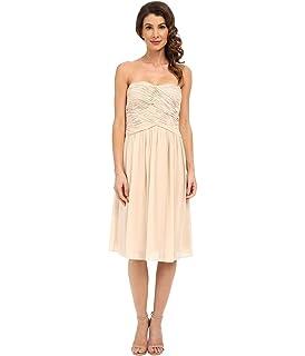 b0e6e492fab24 Donna Morgan Women's Sarah Short Strapless Sweatheart Neckline Dress ...