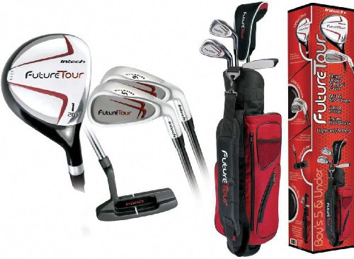 Intech Future Tour Junior Golf Set (Right-Handed,Age 5 and Under) (Golf Junior Intech Clubs)