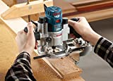 Bosch Deluxe Router Edge Guide with Dust Extraction