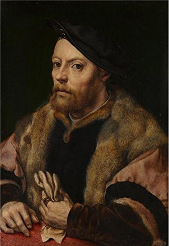 Oil Painting 'Jan Gossaert-Damiao De Goes,1530-2' Printing On Polyster Canvas , 16x23 Inch / 41x59 Cm ,the Best Bathroom Decor And Home Artwork And Gifts Is This Imitations Art DecorativeCanvas Prints
