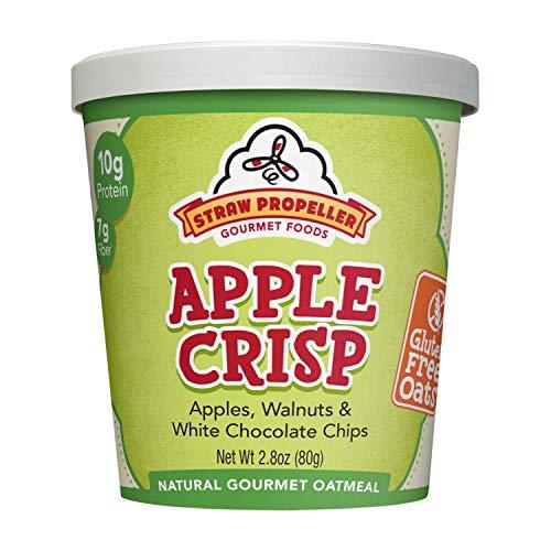 (Straw Propeller Gourmet Foods Gluten Free Natural Gourmet Oatmeal, Apple Crisp, 2.8 Ounce (Pack of 12))