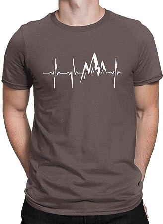 WEFAAS Camisetas Camiseta para Hombre Caminata Caminata ...