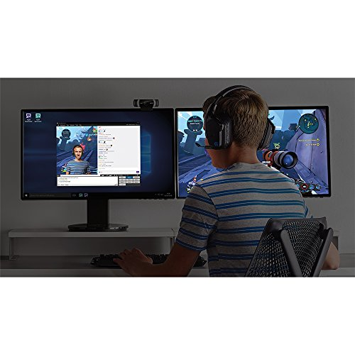 Logitech C922x Pro Stream Webcam – Full 1080p HD Camera – Background Replacement Technology for YouTube or Twitch Streaming by Logitech (Image #6)