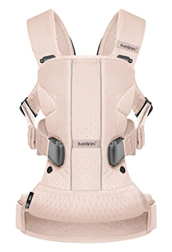 Baby Carrier One Air - Powder Pink, Mesh (Limited Edition Color)