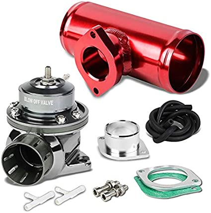Universal 2.5 Bov Blow Off Valve Type S Type Rs Type-S Type-Rs Turbo Charger Inlet Adapter Pipe Flange Aluminum