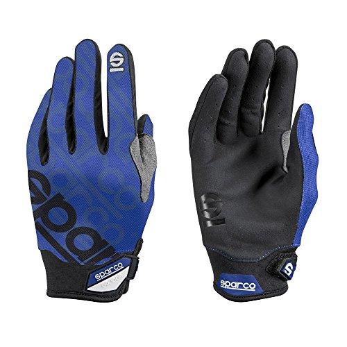 Sparco 002093AZ2M handschoenen Meca 3 Tg. M blauw, M
