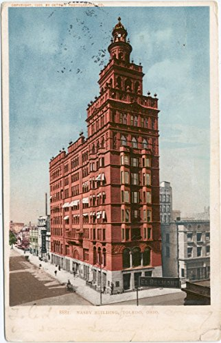 - Historic Pictoric Postcard Print | Nasby Building, Toledo, Ohio, 1898 | Vintage Fine Art