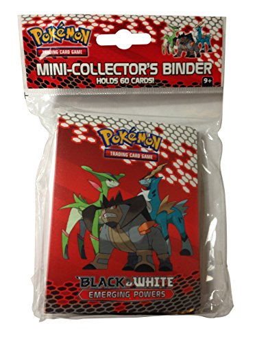 Pokemon Card Mini Binder/Album from Black & White: Emerging Powers (With 3-card Pack!) (Pokemon Mini Card Binder)