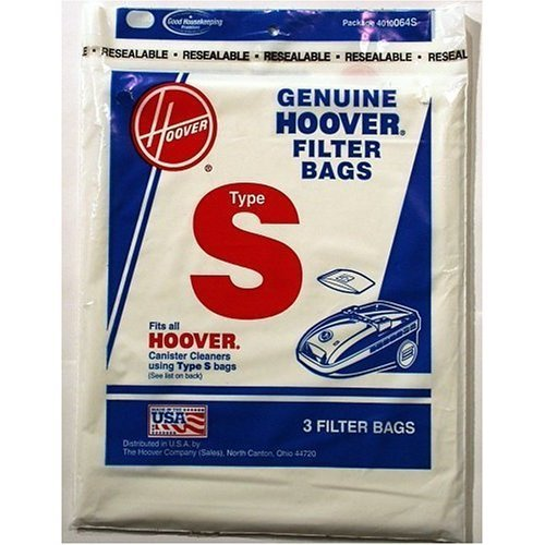 Hoover Type S Bag (9-Pack), 4010064S