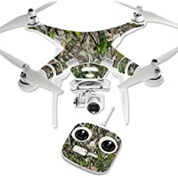 MightySkins Protective Vinyl Skin Decal for DJI Phantom 3 Standard Quadcopter Drone wrap cover sticker skins TrueTimber Htc Green