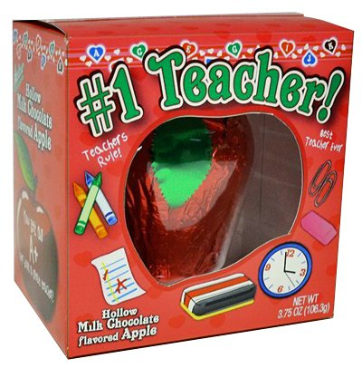 Teachers Chocolate Apple for Valentines Day #1 Teacher Gift