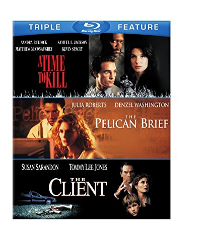 Blu-ray : A Time to Kill / The Pelican Brief / The Client (3 Pack, 3 Disc)