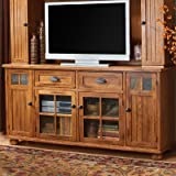 Santa Fe 72″ TV Stand Finish: Rustic Oak For Sale