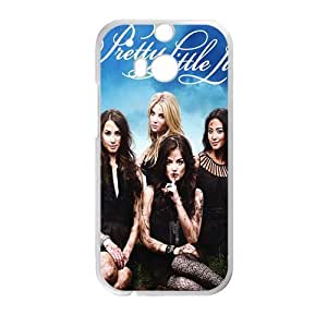 HUAH Pretty Little liars Phone Case for HTC One M8
