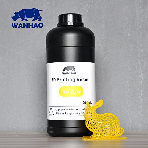 Wanhao 3D-Printer UV Resin - 1000 ml - Yellow 22347
