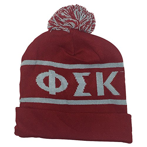 Phi Sigma Kappa Fraternity Letter Winter Beanie Hat Greek Cold Weather Winter - Lauren Ralph Canada Lauren