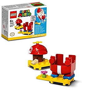 LEGO Super Mario Elica - Power Up Pack, Espansione, Costume Fly&Flow, Giocattolo, 71371  LEGO