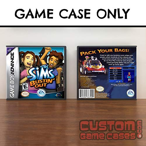 Gameboy Advance Sims Bustin' Out ,The - Case ()