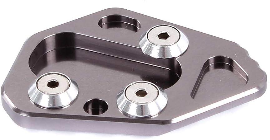 ETbotu Haute r/ésistance en Aluminium pour Moto B/équille lat/érale Support Pad pour BMW F800r HP2/R1200s