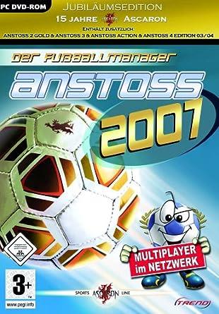 Anstoss 2007 Der Fussballmanager Jubilaumsedition Pc