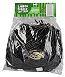 Island Dogs Bamboo Beaded Door Curtain – 3ft x 6ft – Assorted Colors (Black) Review