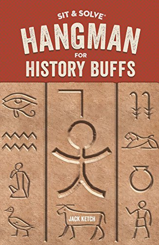 Sit & Solve® Hangman for History Buffs (Sit & Solve® Series) ()