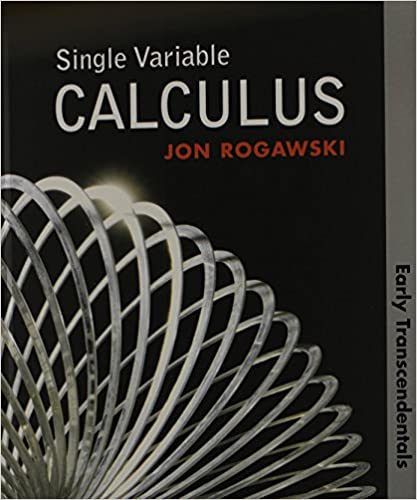 Single variable calculus early transcendentals hs version jon single variable calculus early transcendentals hs version jon rogawski 9781429212199 amazon books fandeluxe Choice Image