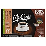 MCCAFE Premium Roast Decaffeinated Coffee Single Serve Pods, 12 Pods, 129G
