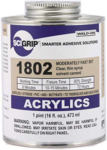 Contact Cement Solvent - Weld-On 1802 Solvent Cement - Pint