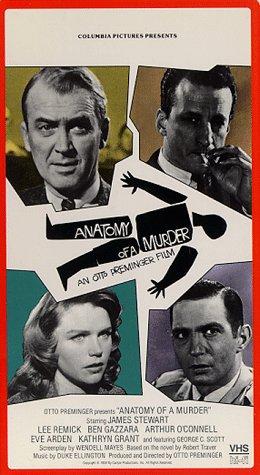 Amazon Anatomy Of A Murder Vhs James Stewart Lee Remick